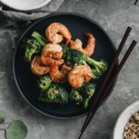 Garlic Shrimp and Broccoli