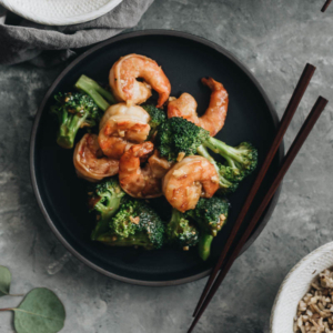 Garlic Shrimp and Broccoli