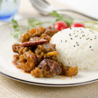 Mom's Best Beef Stew with Tendon