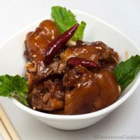 Chinese Style Braised Pork Feet
