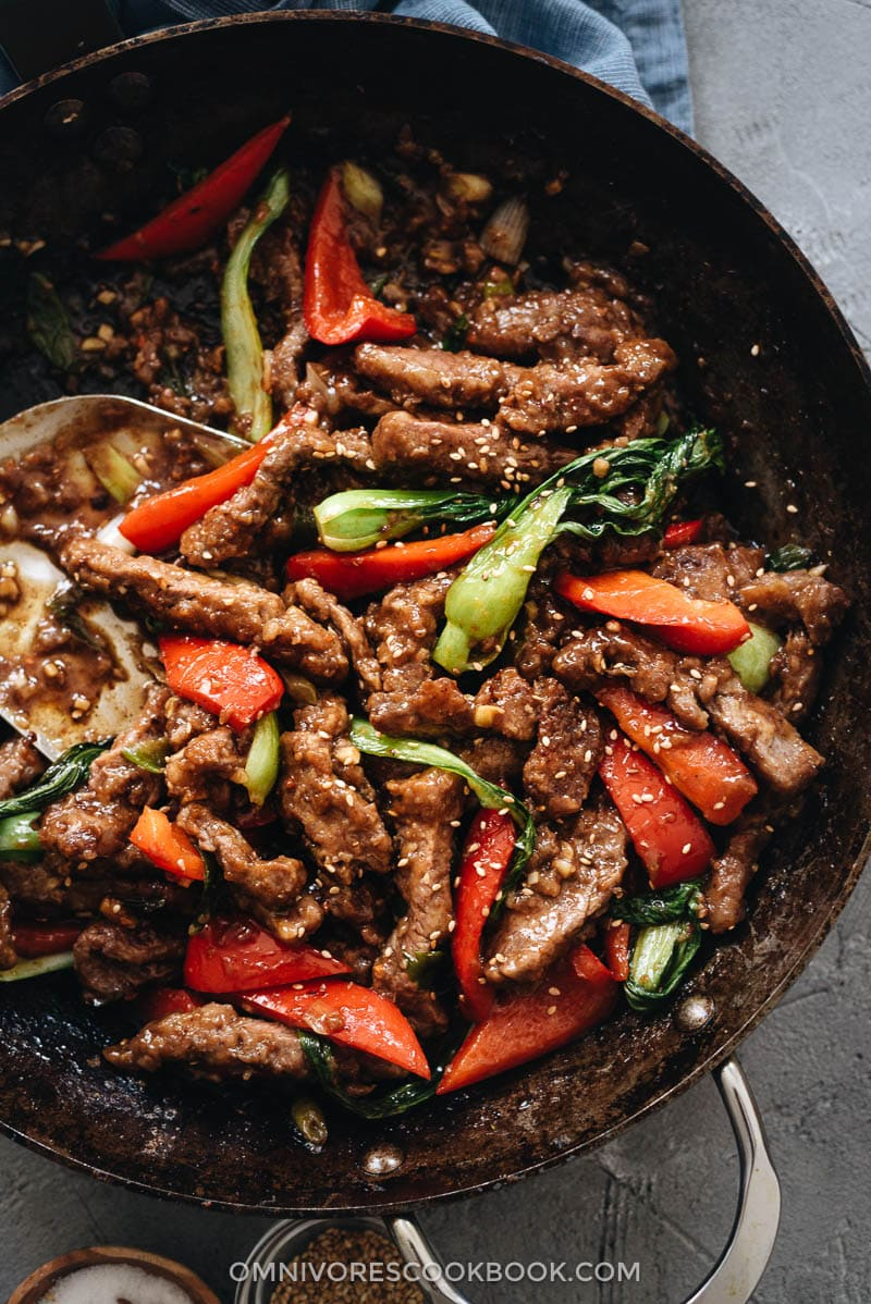 Ginger Beef Stir Fry Omnivore S Cookbook