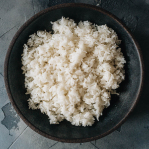 How to Cook Rice - The Ultimate Guide | In this guide, you will find detailed information on how to cook short grain, medium grain, long grain, and jasmine rice in a rice cooker, on the stove top, or in an Instant Pot. I also included the rice-water ratios and a cooking time chart, plus notes on how to adjust the texture of white rice, storage, and more!