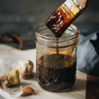 Chinese BBQ Sauce - The homemade BBQ sauce has a rich, sweet, savory taste with well-balanced Asian notes of ginger and five spice. It is super fast to make and has a thick consistency. Make your favorite dishes using this Chinese BBQ sauce to replace your regular sauce and make your weekday dinners more interesting! {Gluten-Free adaptable}