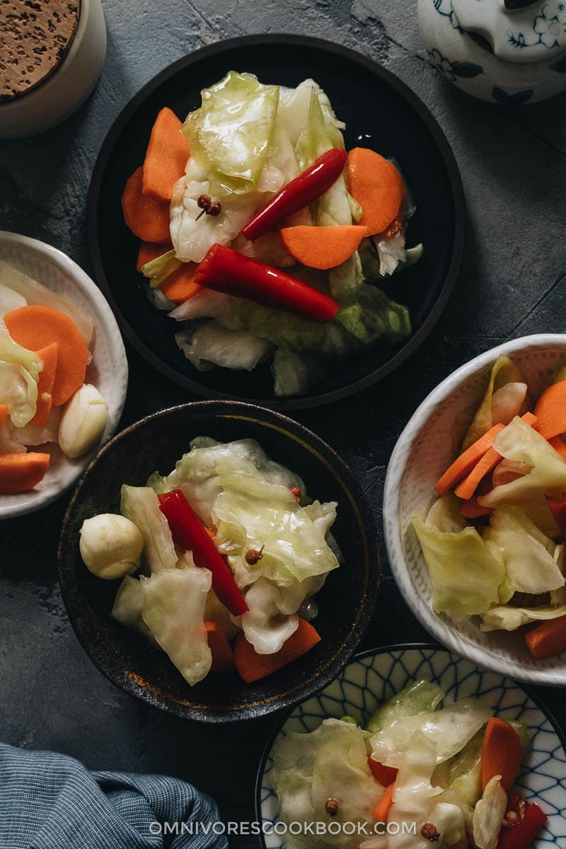 Sichuan pickled cabbage