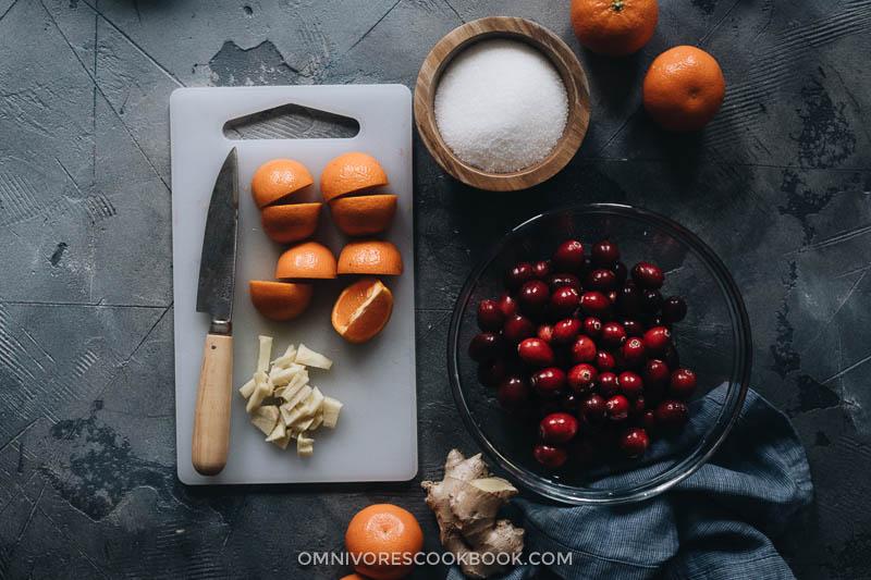 Cranberry relish ingredients