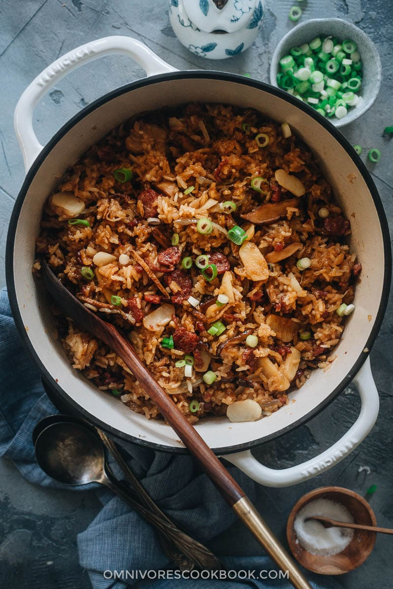 Sticky rice stuffing