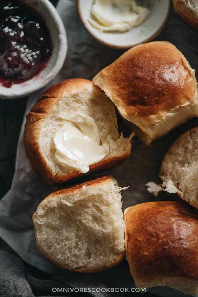 Asian-Inspired Thanksgiving Recipes | Easy Milk Bread Rolls