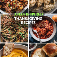 Asian-Inspired Thanksgiving Recipes | A list of comforting and heartwarming Thanksgiving dishes made with an Asian twist on traditional Thanksgiving recipes.