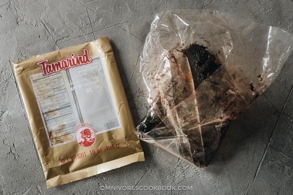 Packaged tamarind paste