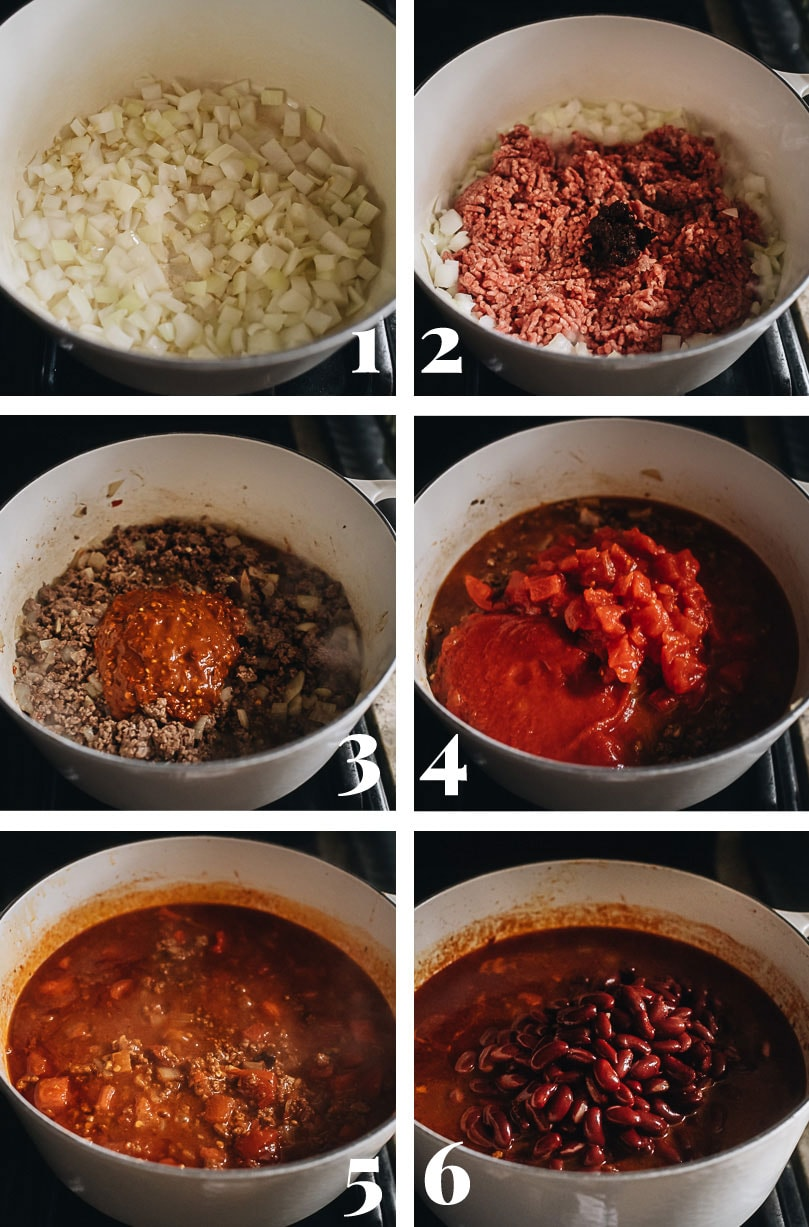 How to cook Chinese chili step-by-step