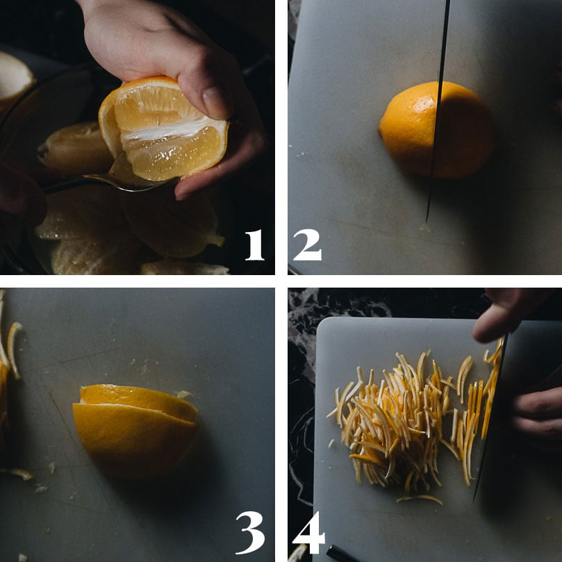 How to prepare lemon to make tea