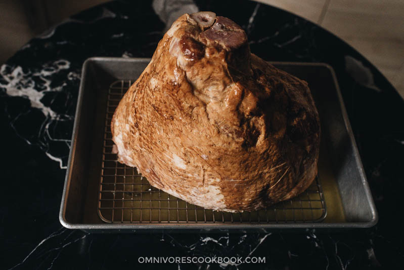 Prepare roasting pan