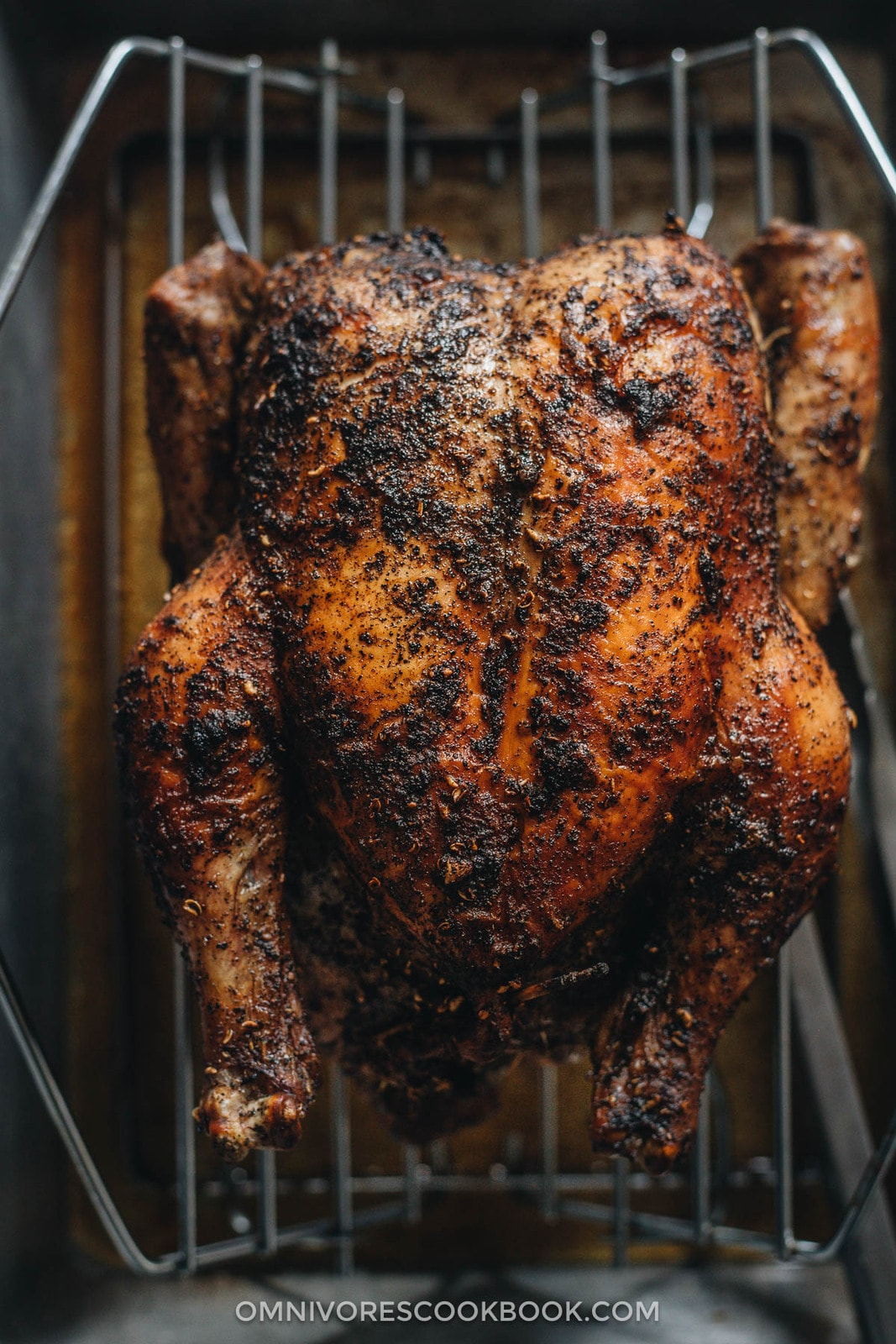 Sichuan peppercorn roasted whole chicken