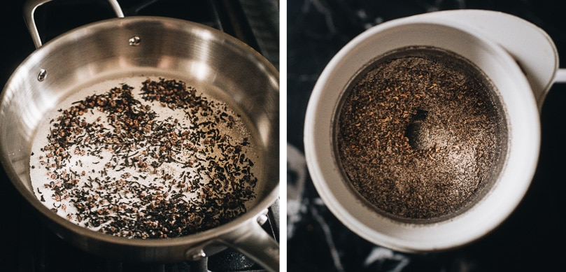 How to make Sichuan peppercorn salt