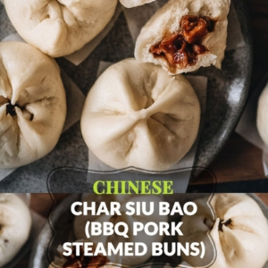 Learn how to make authentic Chinese char siu bao just like a dim sum restaurant. The buns have very soft, fine, and fluffy bread with a juicy tender pork filling. My recipe includes detailed step-by-step photos and a video to help you achieve the best result in your own kitchen.