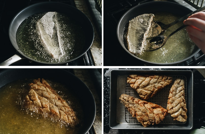 How to fry fish fillet step-by-step