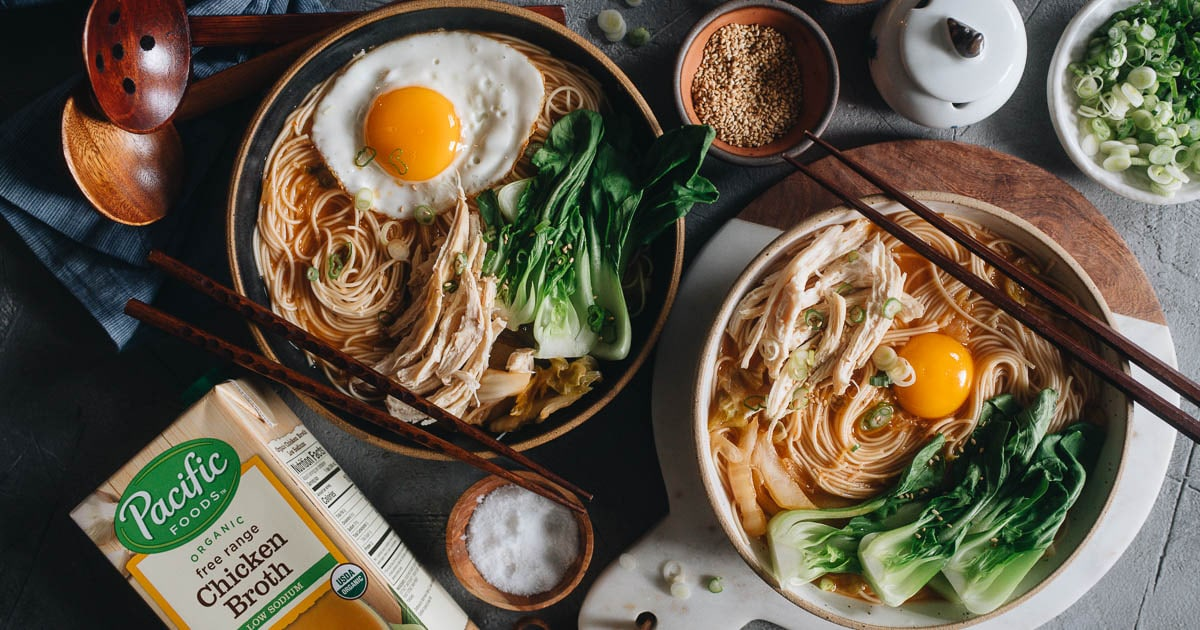 15-Minute Korean Noodle Soup