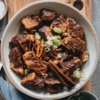 Instant Pot Braised Beef (Chinese-Style) | An easy Instant Pot braised beef recipe that creates melt-in-your-mouth beef with a rich, well-rounded sauce that is very fragrant. Make it ahead of time and enjoy it throughout the week!