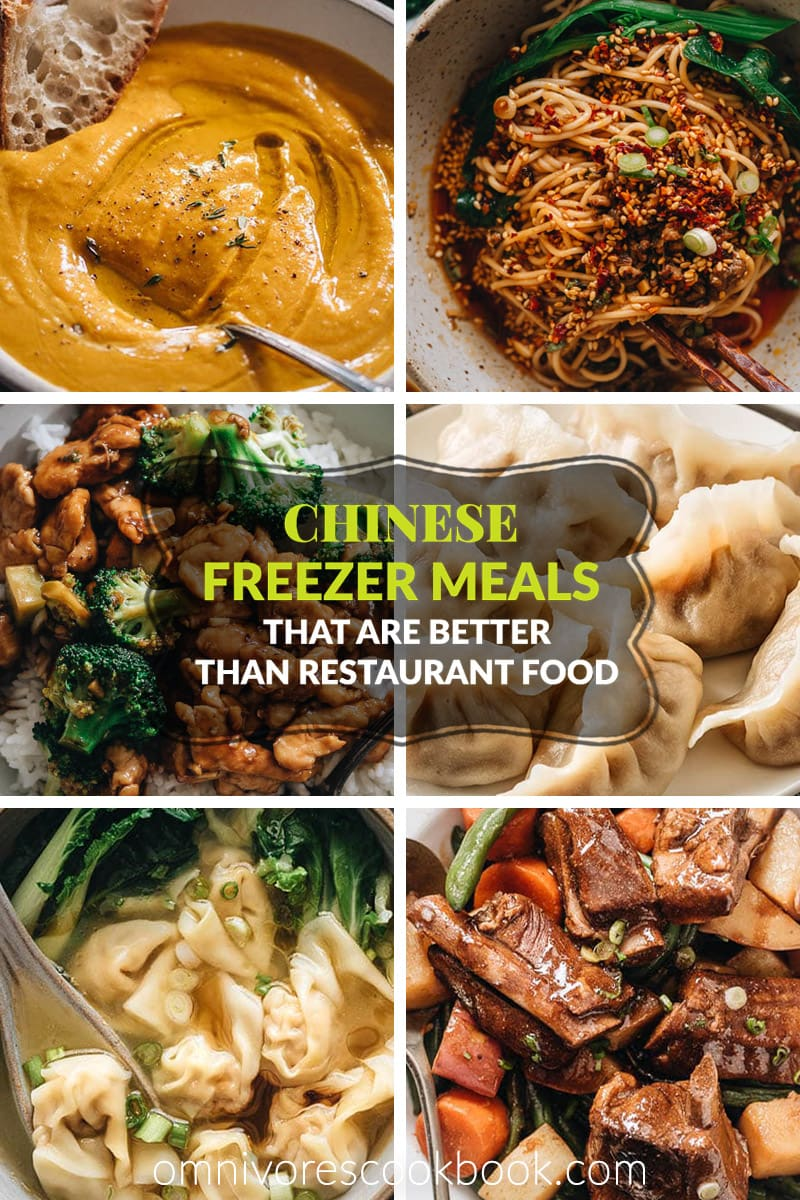 15 Chinese Freezer Meals That are Better Than Restaurant Food - Prepare for a rainy day or stay busy indoors with these freezer friendly meals perfect for meal prep to give you gourmet Chinese meals any time!