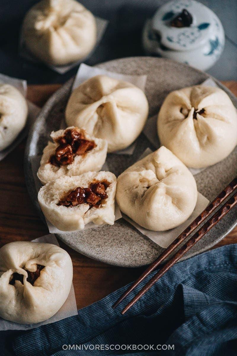 The Best Dim Sum Recipes - Steamed Char Siu Bao