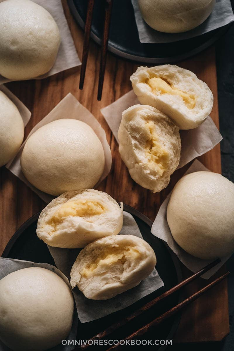 The Best Dim Sum Recipes - Steamed Custard Buns