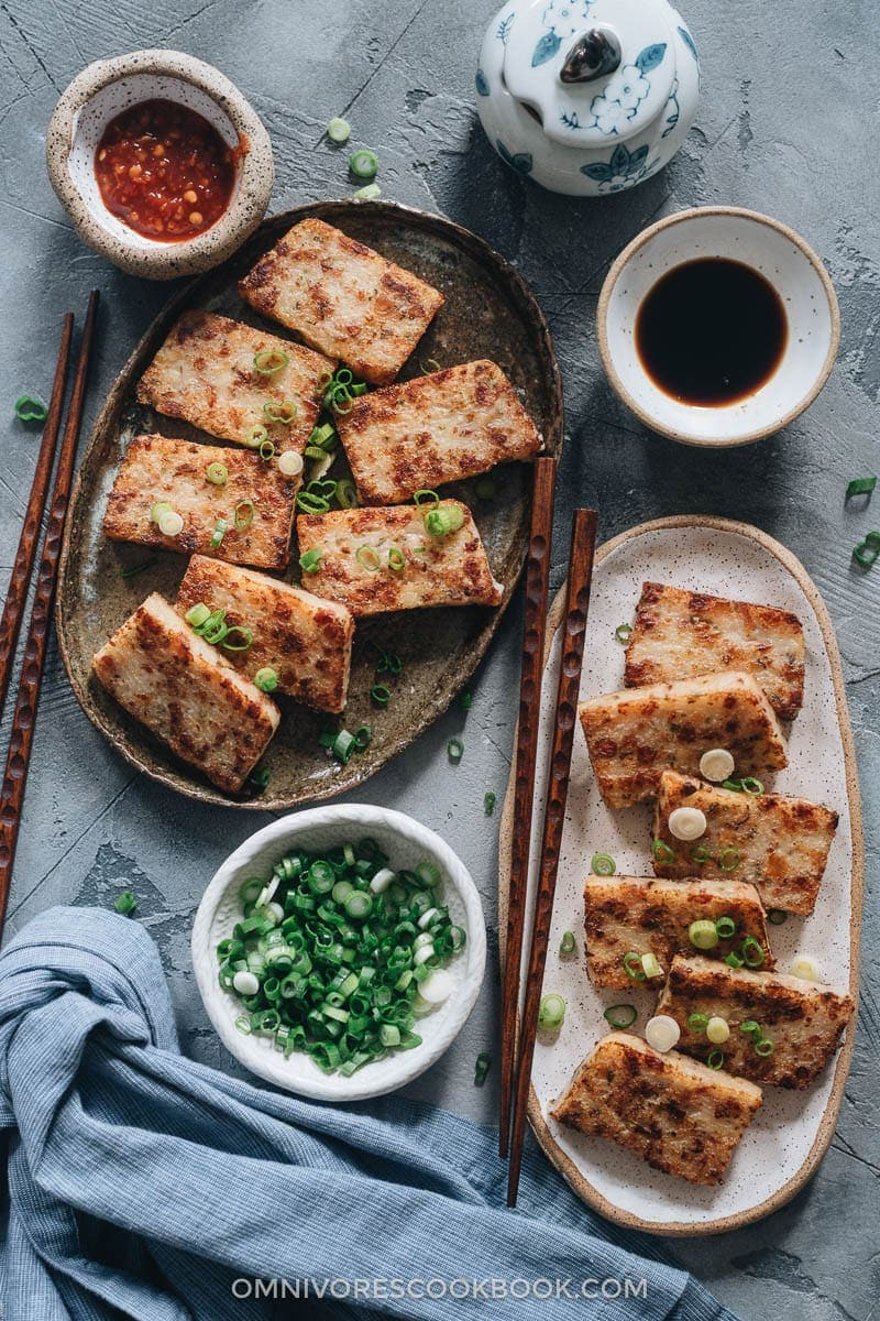 The Best Dim Sum Recipes - Chinese Turnip Cake