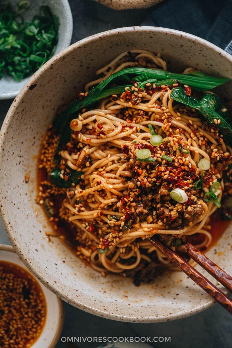 The Best Dim Sum Recipes - Dan Dan Noodles