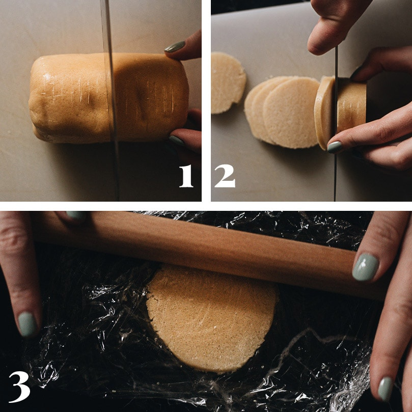 How to cut the topping