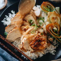 Instant Pot whole chicken with gravy
