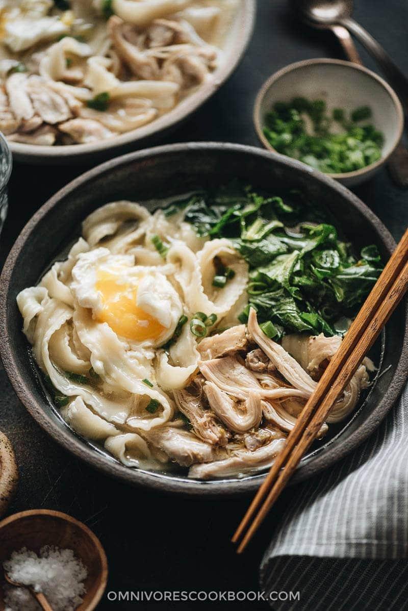 The Best Asian Instant Pot Recipes - Instant Pot Chicken Noodle Soup