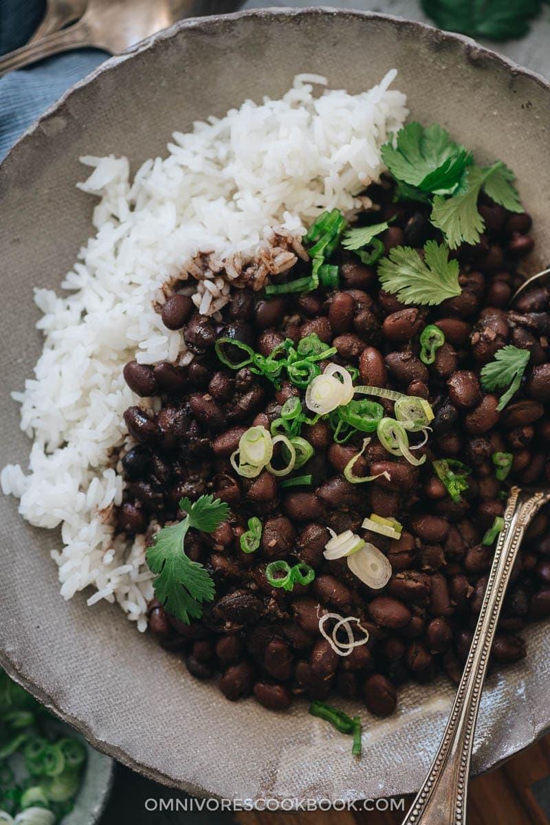 The Best Asian Instant Pot Recipes - Instant Pot Black Beans