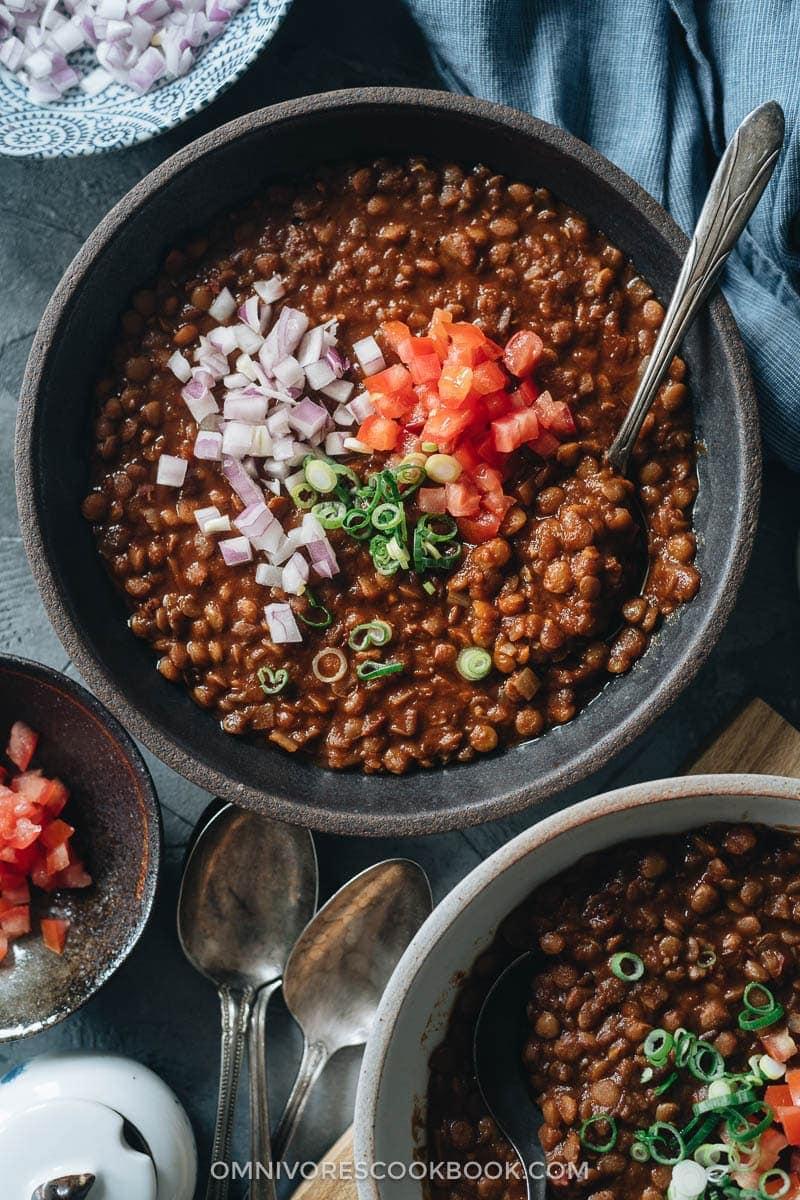 The Best Asian Instant Pot Recipes - Instant Pot Lentil Soup