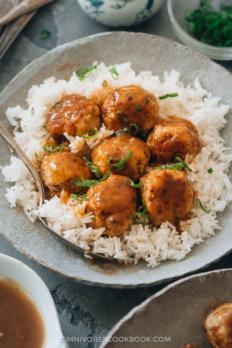 The Best Asian Instant Pot Recipes - Instant Pot Meatballs