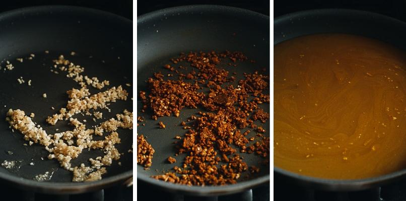 Make noodle soup base step-by-step