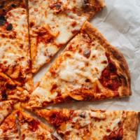 Homemade kimchi pizza close-up