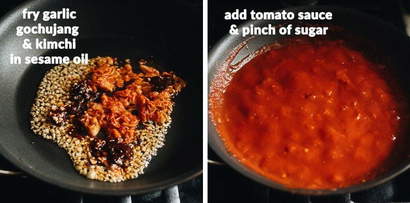 How to make Asian-style hot sauce for pizza