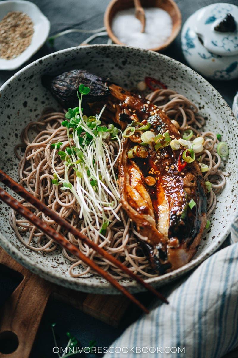 Easy eggplant noodles