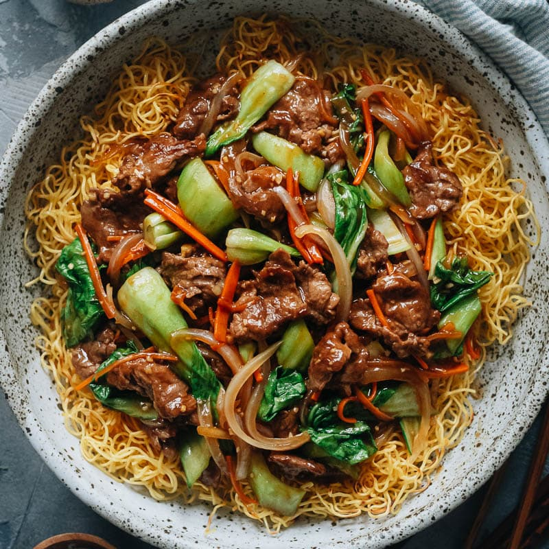 Beef Pan Fried Noodles Omnivore S Cookbook