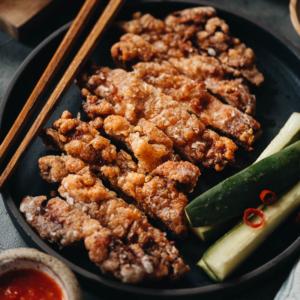 Chinese fried pork chops