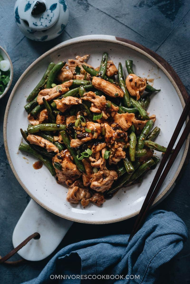 String Bean Chicken | 23 Best Chinese Chicken Recipes