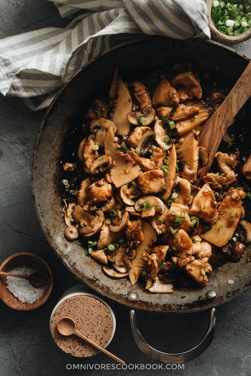 Chinese Mushroom Chicken Stir Fry | 23 Best Chinese Chicken Recipes