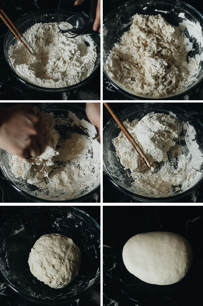 How to make hand pulled noodle dough