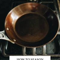 Introducing a very easy and foolproof way to season your new carbon steel pan, so it will become nonstick and last a lifetime.