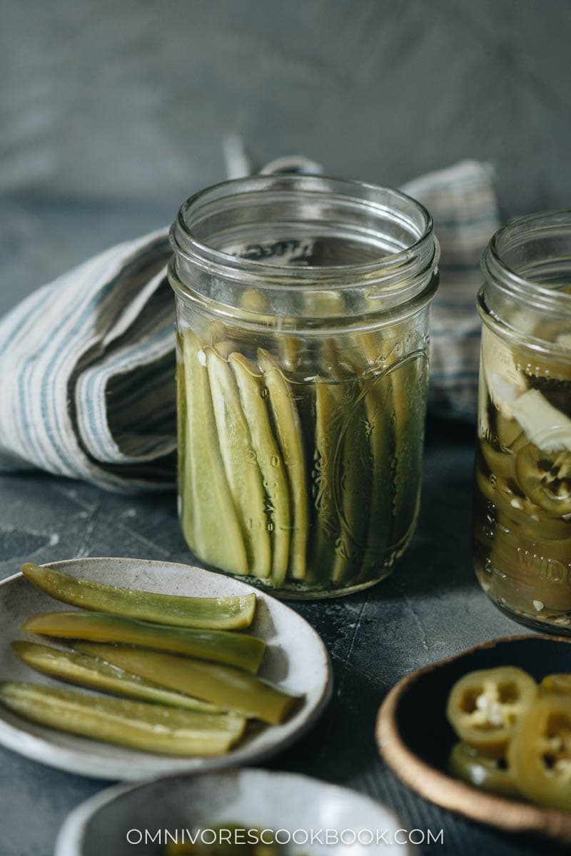 Chinese quick pickled peppers