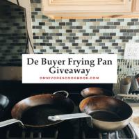 De Buyer Frying Pan Giveaway