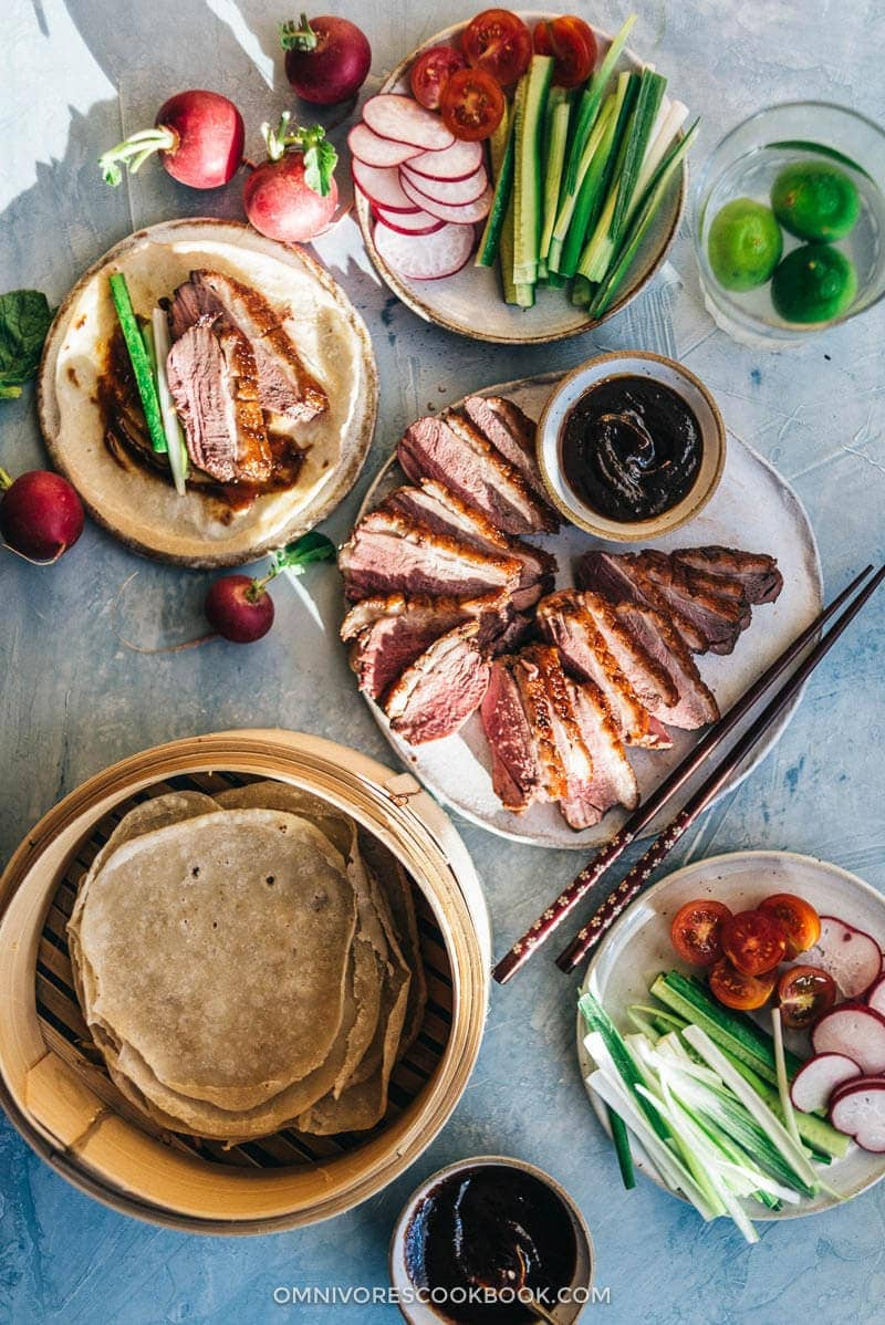 Chinese Mid-Autumn Festival Menu - Crispy Chinese Duck Breast