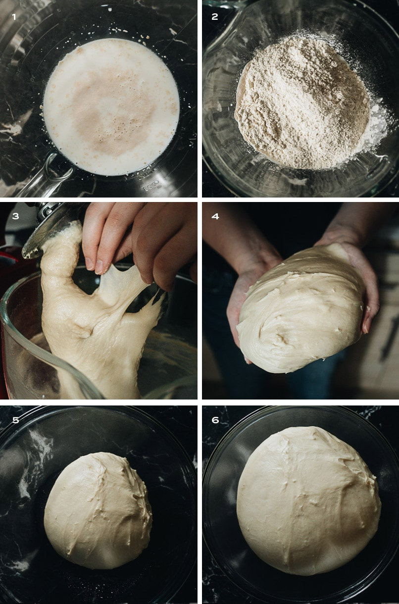 How to make char siu bao dough step-by-step