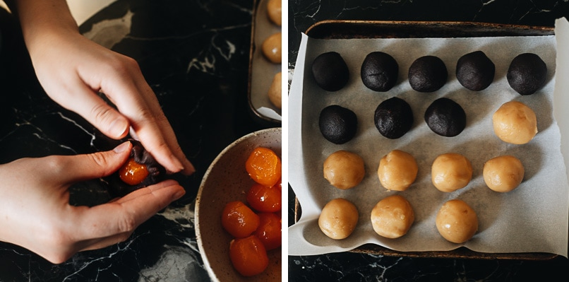 How to make mooncake filling