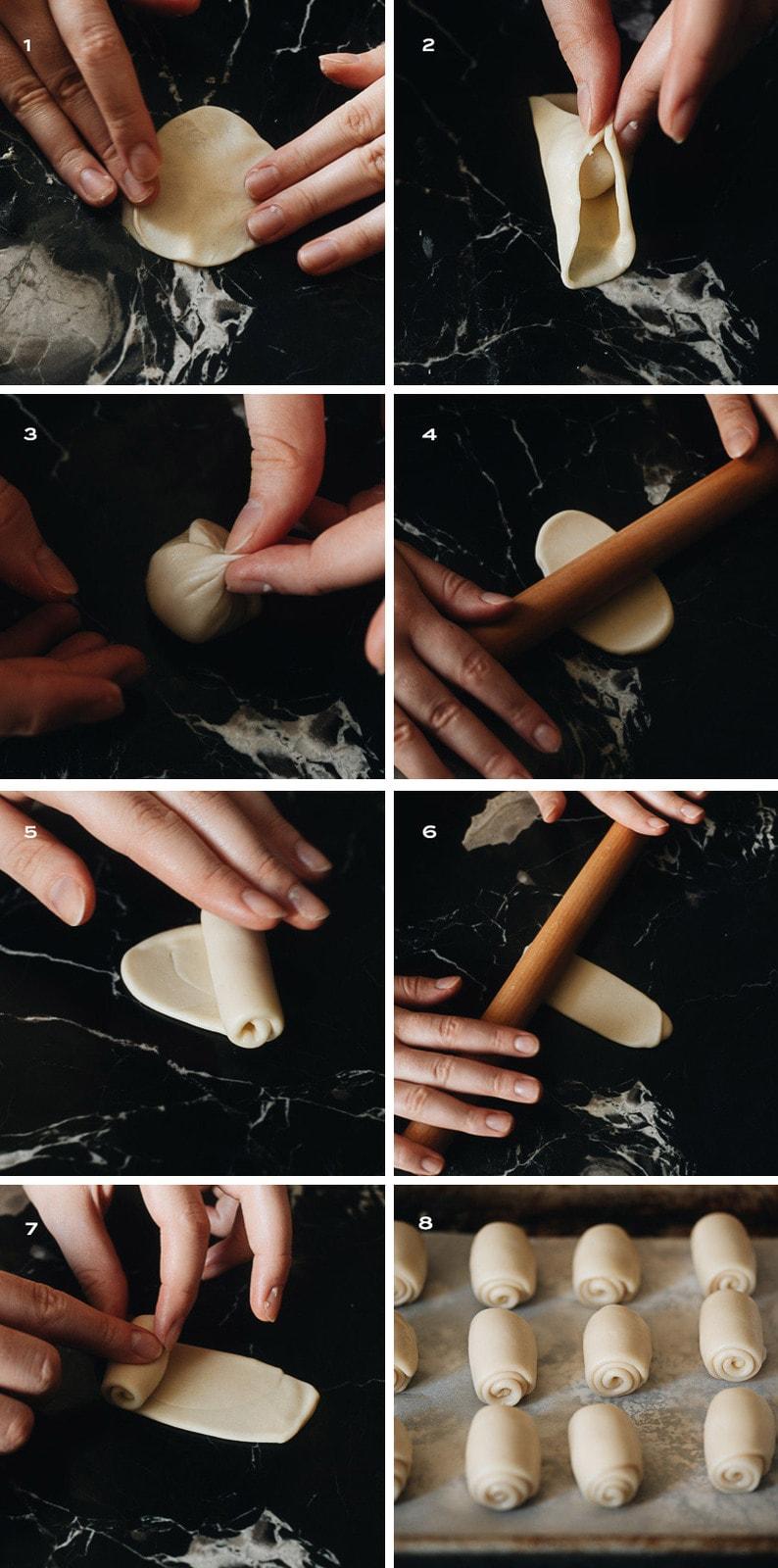 How to prepare mooncake skin dough step-by-step