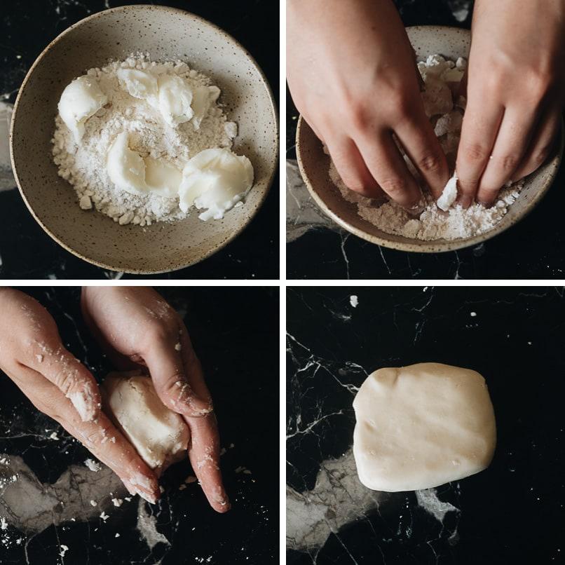 How to make oil dough dough step-by-step
